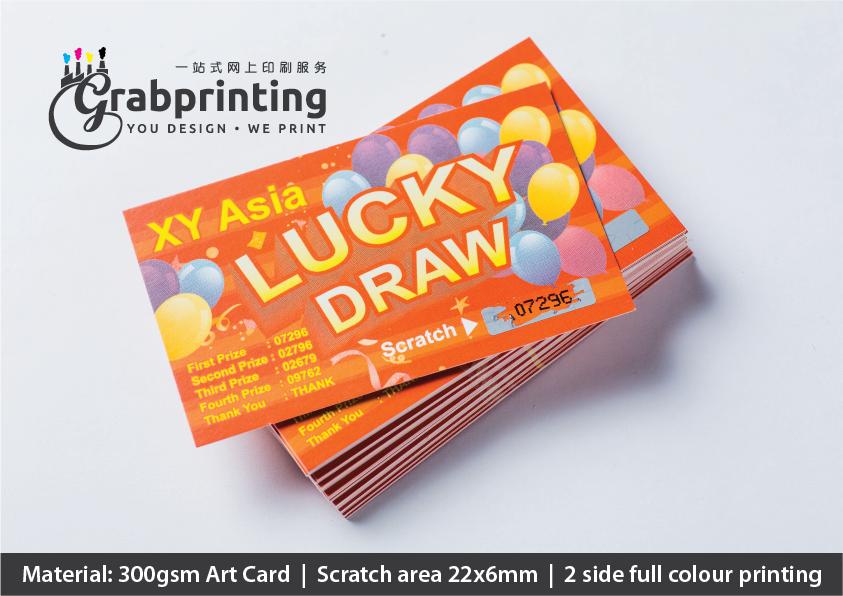 Scratch Card Printing scratch card 06 a a4