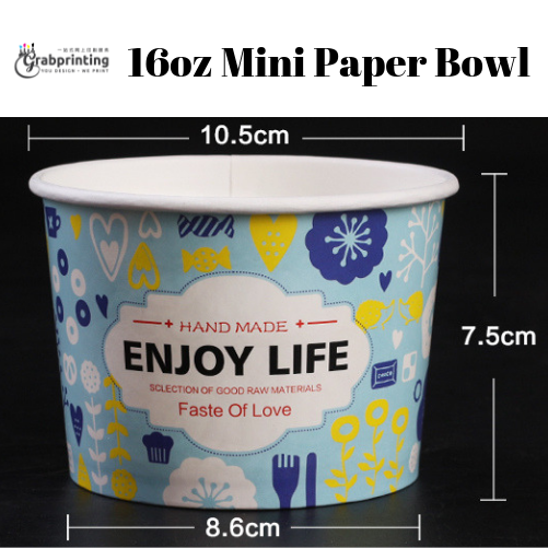 Mini Paper Bowls 16oz Mini Paper Bowl