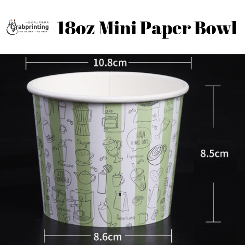Mini Paper Bowls 18oz Mini Paper Bowl