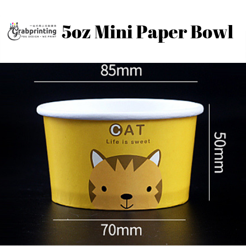 Mini Paper Bowls 5oz Mini Paper Bowl