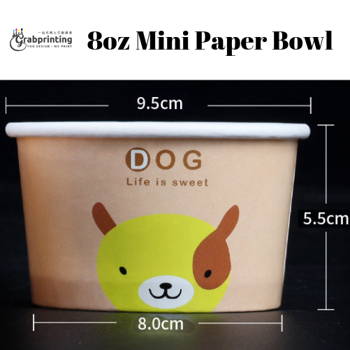 Mini Paper Bowls 8oz mini paper bowl