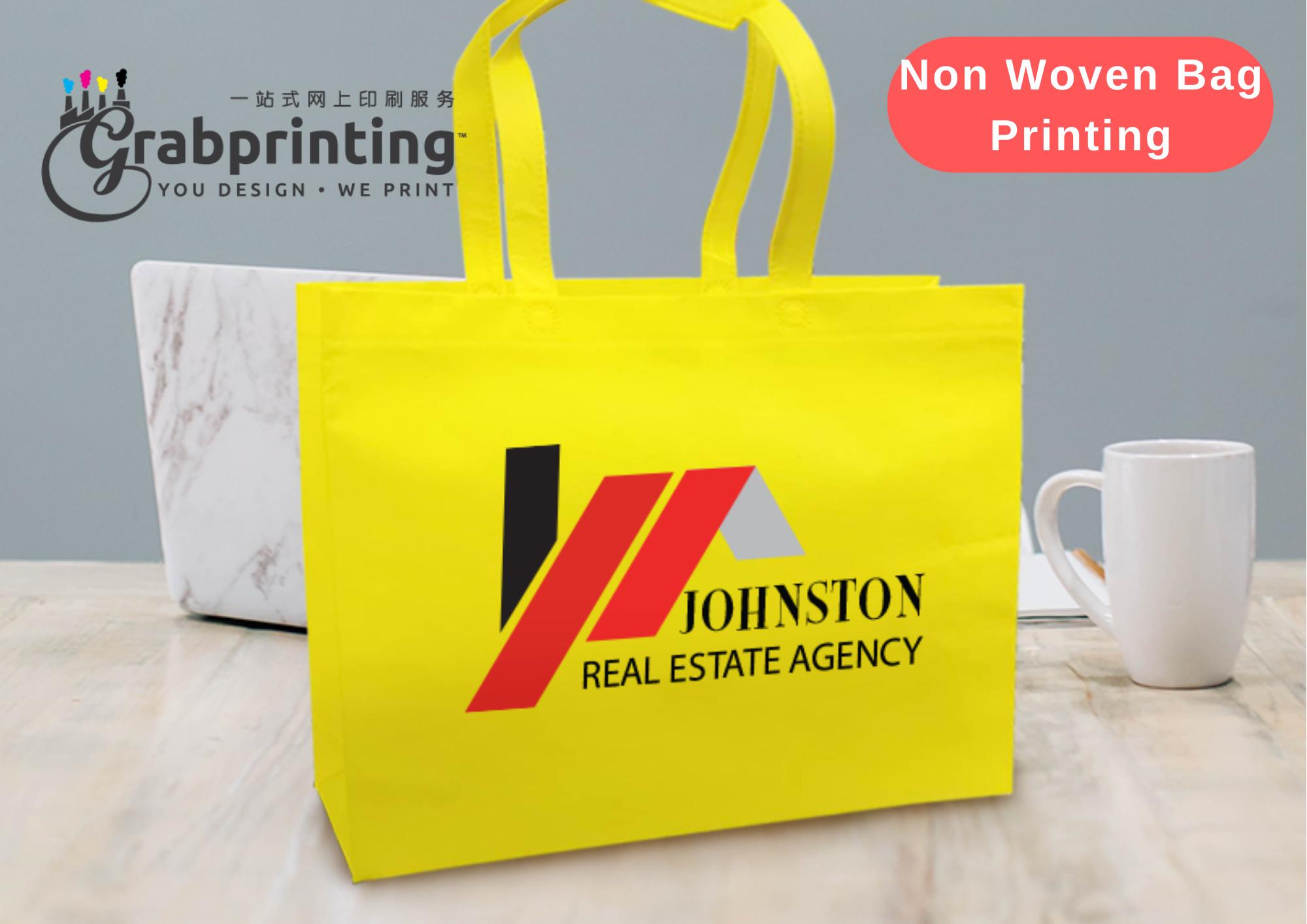 Non Woven Bag Printing Non woven bag printing 1